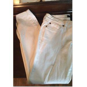 White Jessica Simpson jeans